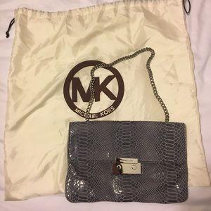 Michael Kors Silver Shoulder Bag